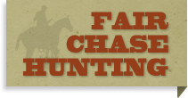 Fair Chase Hunting